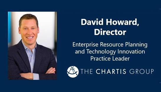The Chartis Group names David Howard ERP practice leader
