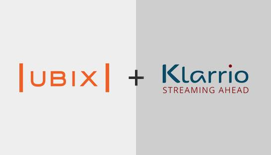 Ubix and Klarrio partner on artificial intelligence and data science