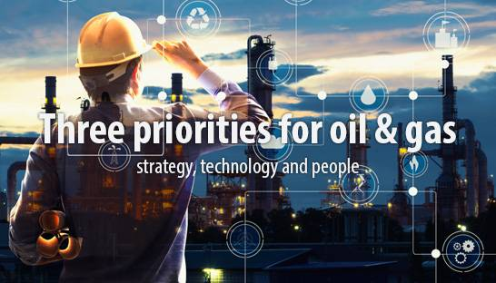 North Highland experts on strategic priorities for oil & gas