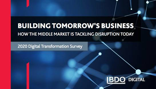 BDO Digital: The state of digital transformation in the mid-market