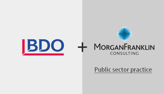 BDO acquires MorganFranklin Consulting's public sector practice