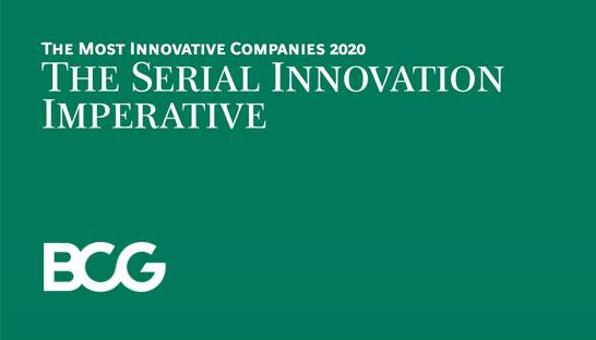 BCG's list of the most innovative companies in the world