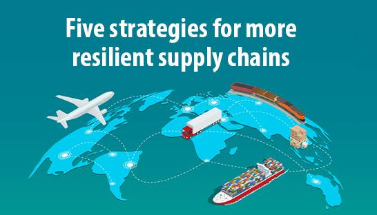 WEF and Kearney: Five strategies for more resilient supply chains