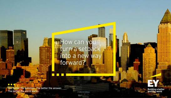 Dan Black on EY's 'Rebuild Your Working World' initiative