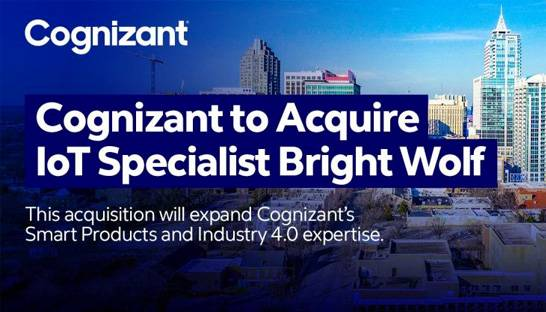 Cognizant buys industrial IoT consultancy Bright Wolf