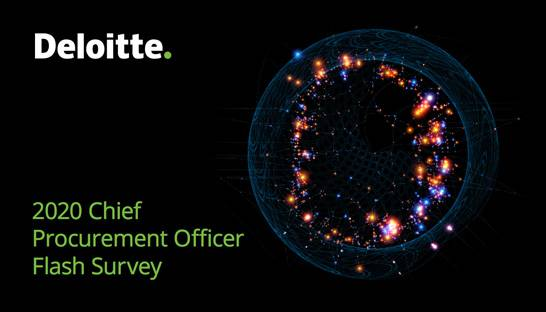 Deloitte: Procurement leaders focusing on cash flow, expanding supply base