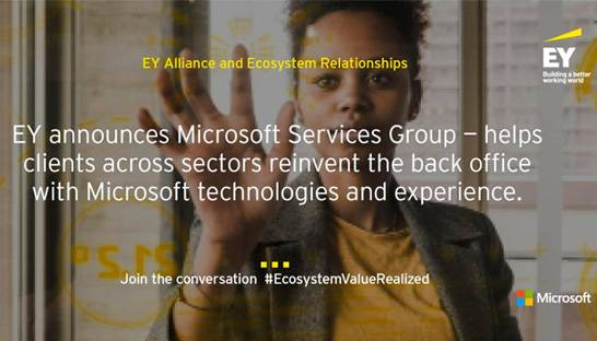 EY announces dedicated Microsoft Services Group