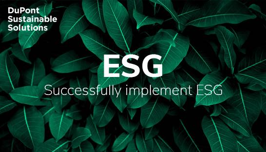 A company-wide approach for successfully implementing ESG
