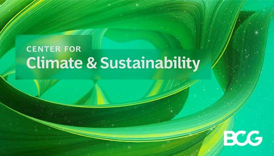 BCG launches a global climate & sustainability practice