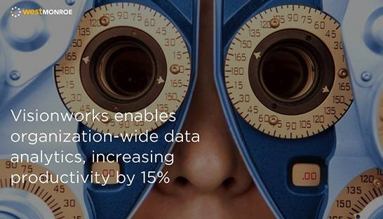 West Monroe helps Visionworks implement data platform
