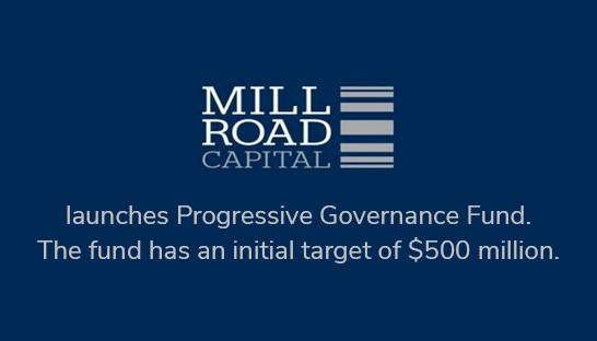 Mill Road Capital launches fund focused on diversity and governance
